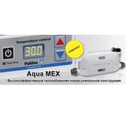 Теплообменник 40 кВт Aqua MEX AM-FE из армированного пластика, спираль ASI-316, c насосом