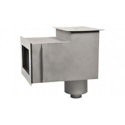 """Скиммер нерж. ст. AISI-304 с удлиненной горловиной подкл. 1,5"""" (плитка)"""