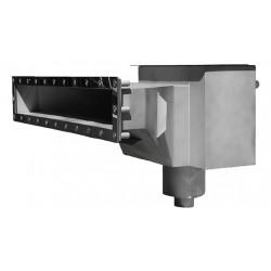 Скиммер нерж. ст. AISI-304 с камерой долива и расширенной горловиной L-600мм пленка