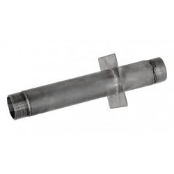 "Стеновой проход дл.300 нерж. ст. AISI-304 подкл. 1.5"" (внутр)х2""(наруж)(плитка)"
