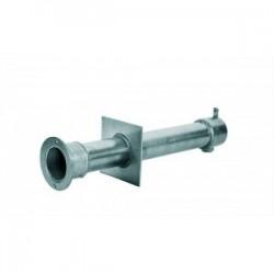 Труба закл. из нерж. стали AISI-304, дл. 340мм для бет. Бассейна