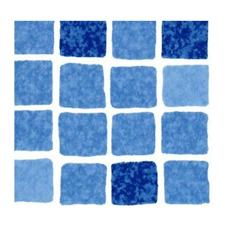 "Пленка ПВХ 1,65х25,00м ""SBGD 160 Supra"", Mosaic blue"