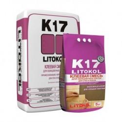 Клей для плитки LITOКOL K17 (5 кг)