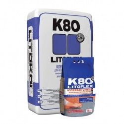 Эластичный клей LITOFLEX K80 (25 кг)